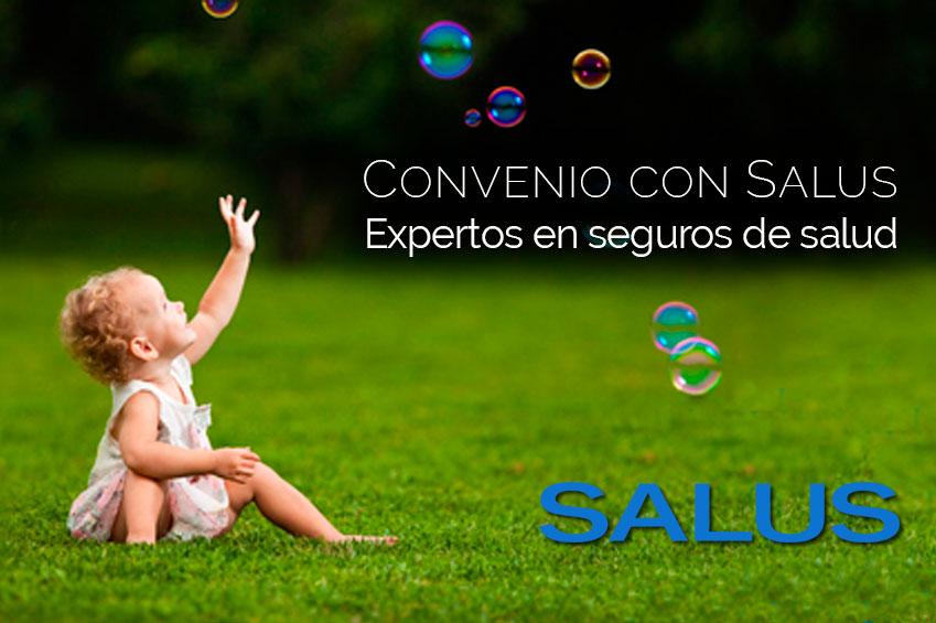 Firma de Convenio de Colaboración con Salus, seguros de salud.