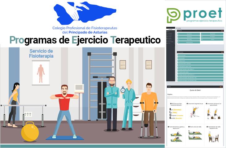 Acceso a Plataforma PROET - Ejercicio terapéutico